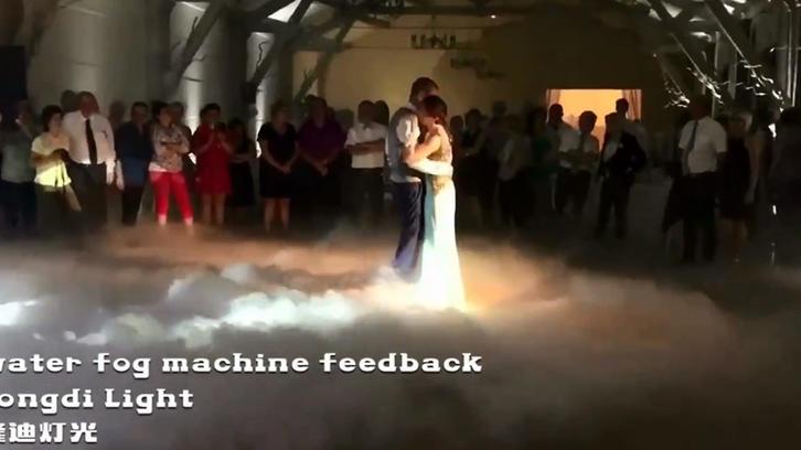 3000W water low fog machine feedback LD-3109B
