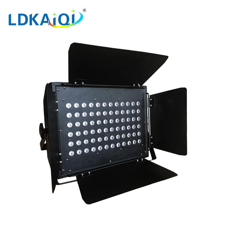LED wall washer light with barn door 72X3W RGB 3in1