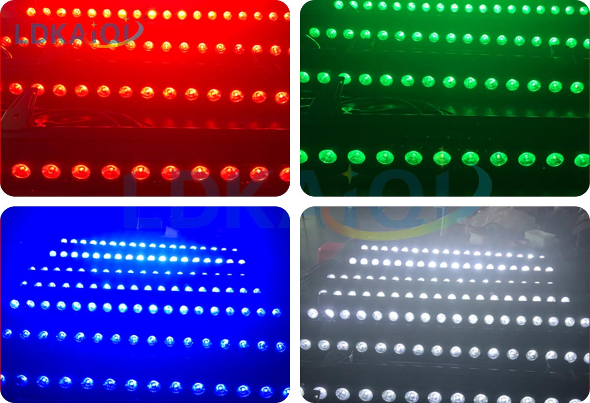Led Wall Washer Lights 18X10W RGBW 4in1(图1)