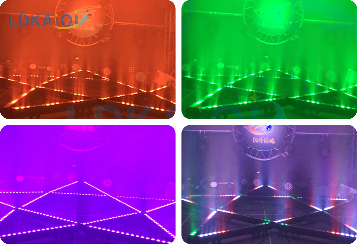 Led Wall Washer Lights 18X10W RGBW 4in1(图2)