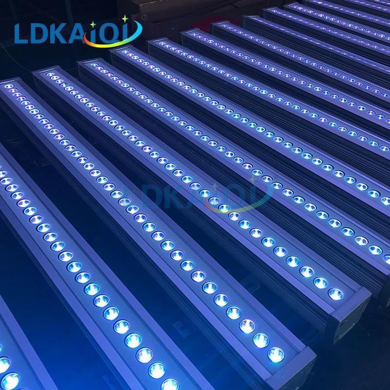 LED Linear Wall Washer Light 36X3W RGB/RGB 3in1 IP65