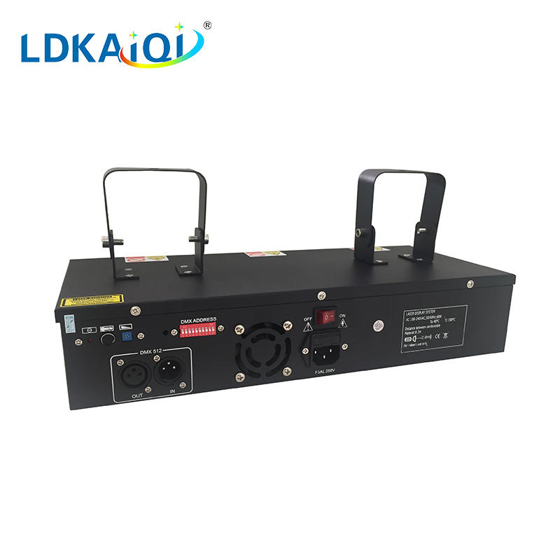 RGB laser light 3 beam