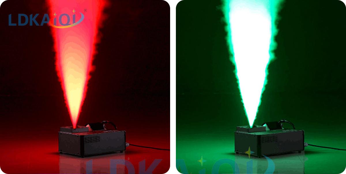 Fog Stage Smoke Machine With 24 Leds 1500W(图2)