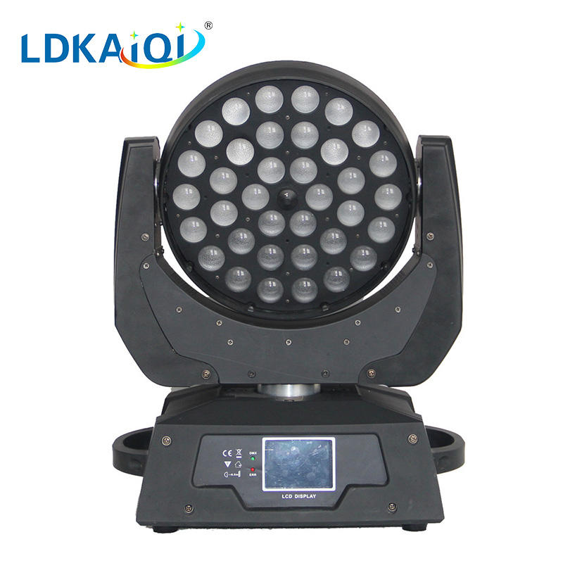 led zoom wash moving head light 36*12W 4in1/5in1/6in1