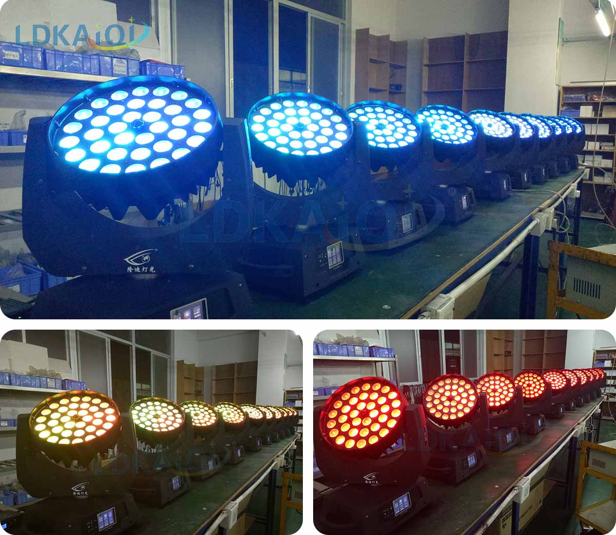 Led Zoom Wash Moving Heads Light 36*12W 4in1/5in1/6in1(图2)