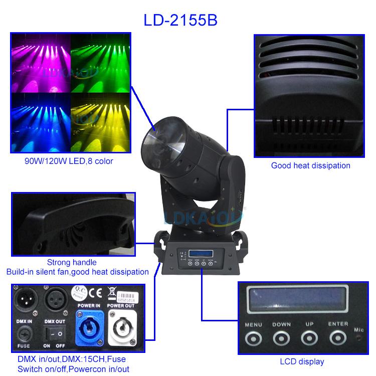 LED BEAM Moving Head Led Beam Light 90W/120W(图1)