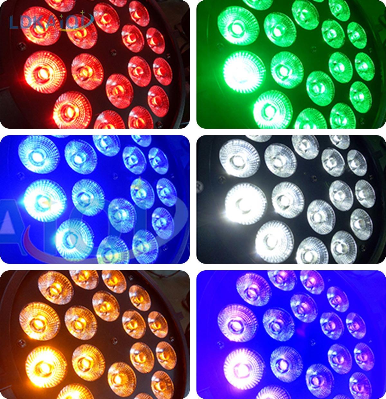 LED Par Slim Light 18X10W 4in1/5in1/6in1(图1)