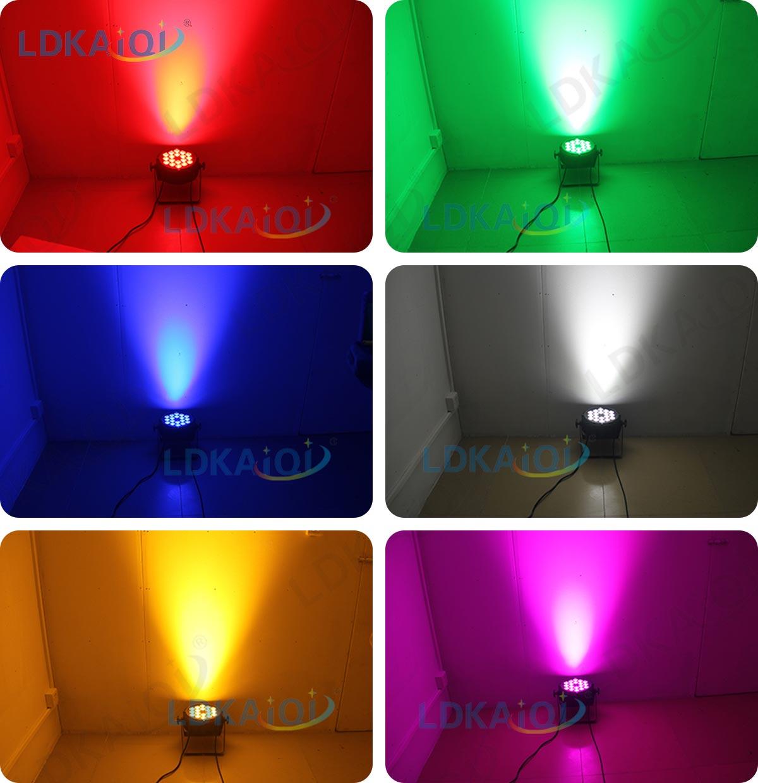 LED Par Slim Light 18X10W 4in1/5in1/6in1(图2)