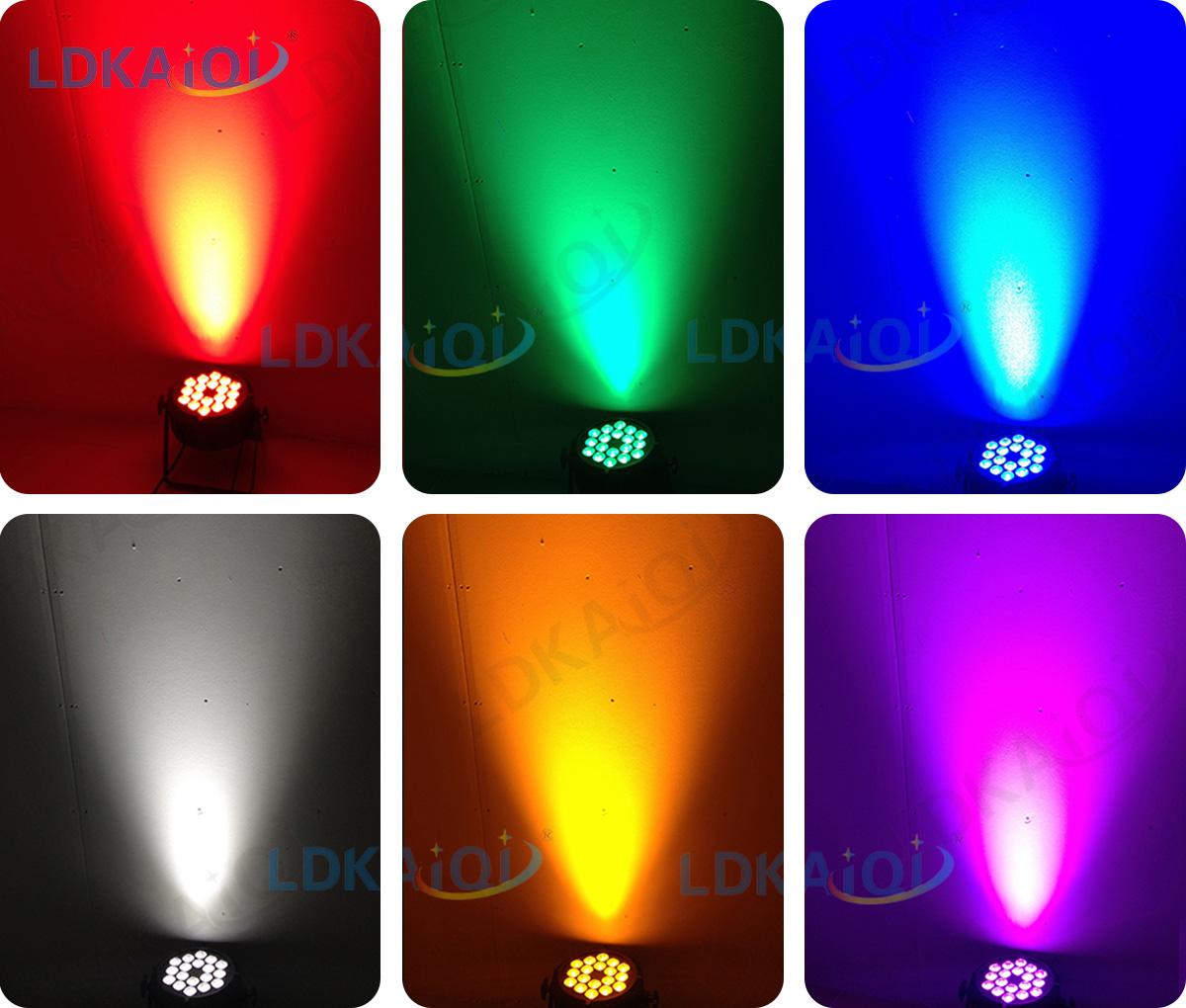 LED Par Slim Light 18X10W 4in1/5in1/6in1(图3)