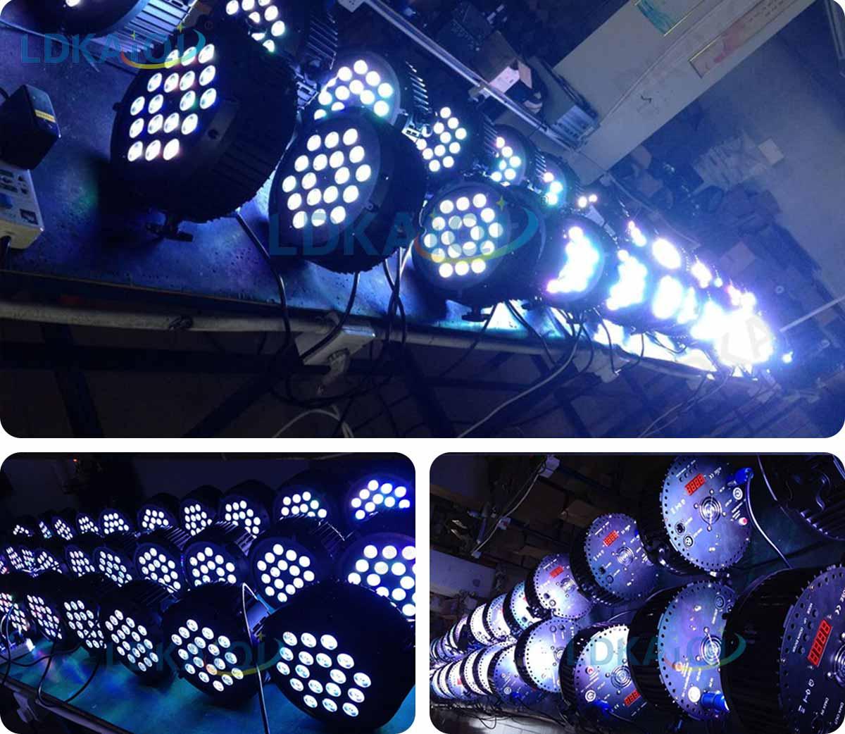 LED Par Slim Light 18X10W 4in1/5in1/6in1(图4)