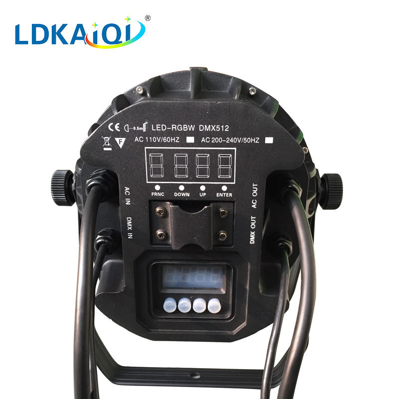 RGBW led waterproof par light 54x3W