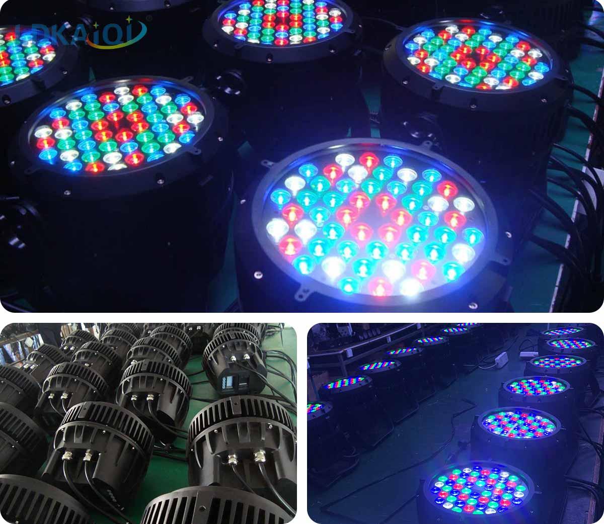 RGBW led waterproof par light 54x3W(图2)
