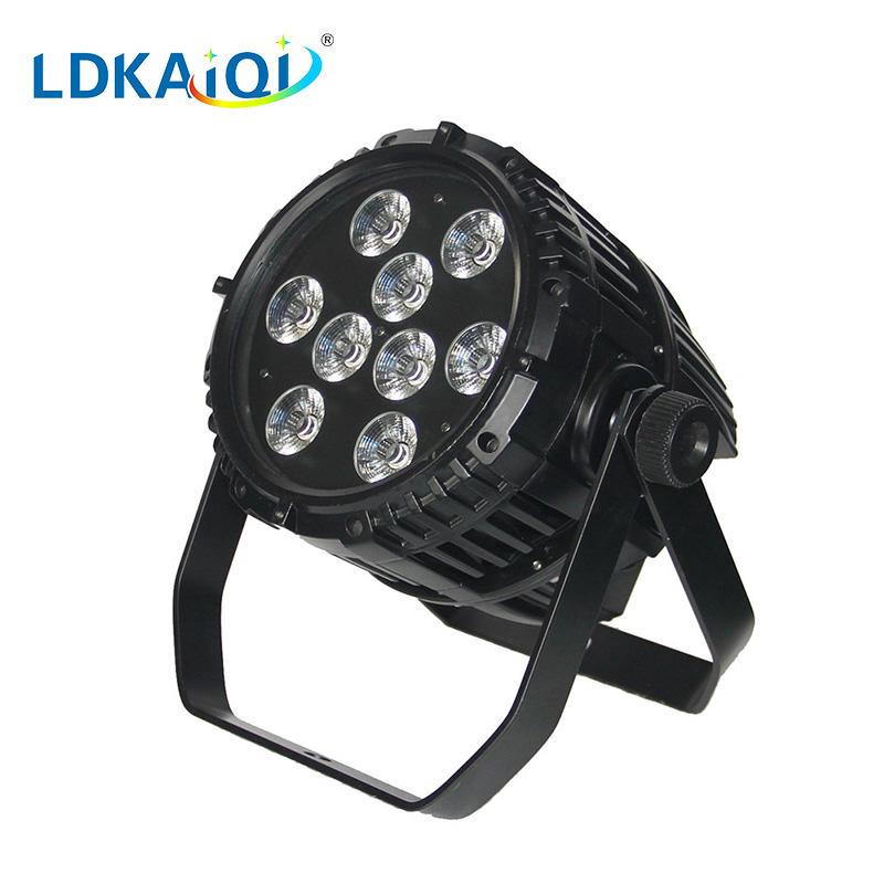 led waterproof battery wireless par light 9X10W 4in1/5in1/6in1
