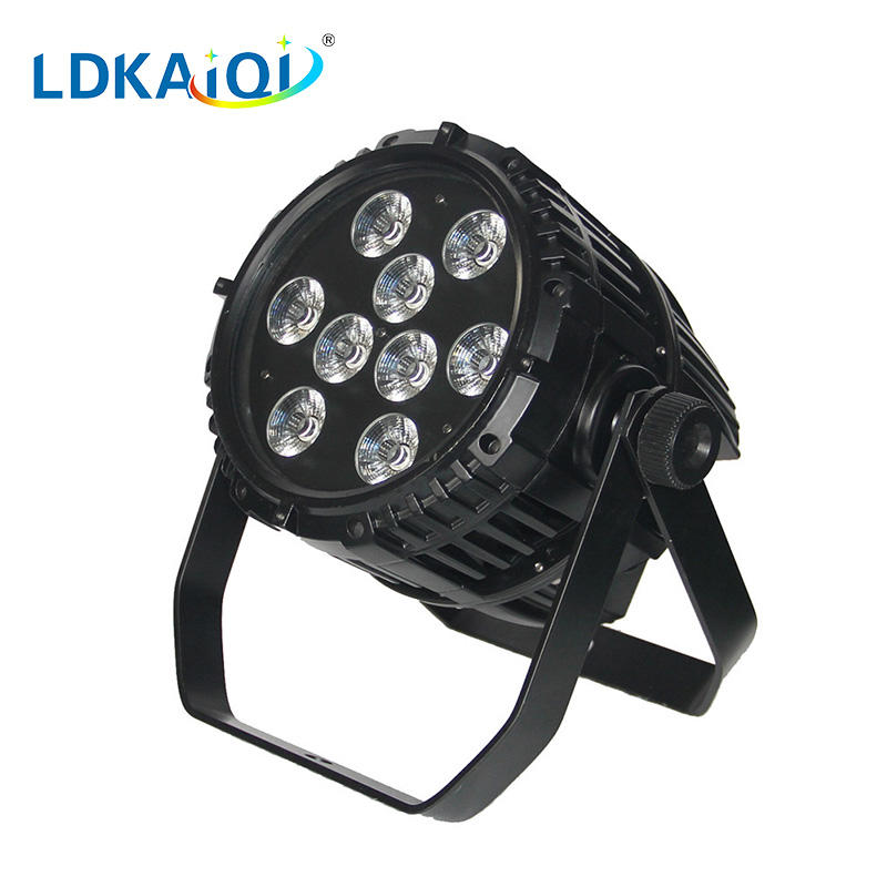 led waterproof battery wireless par light 9X10W 4in1/5in1/6in1