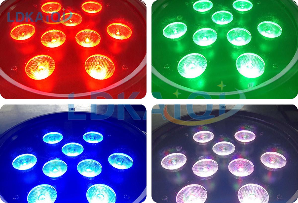 led waterproof battery wireless par light 9X10W 4in1/5in1/6in1(图1)