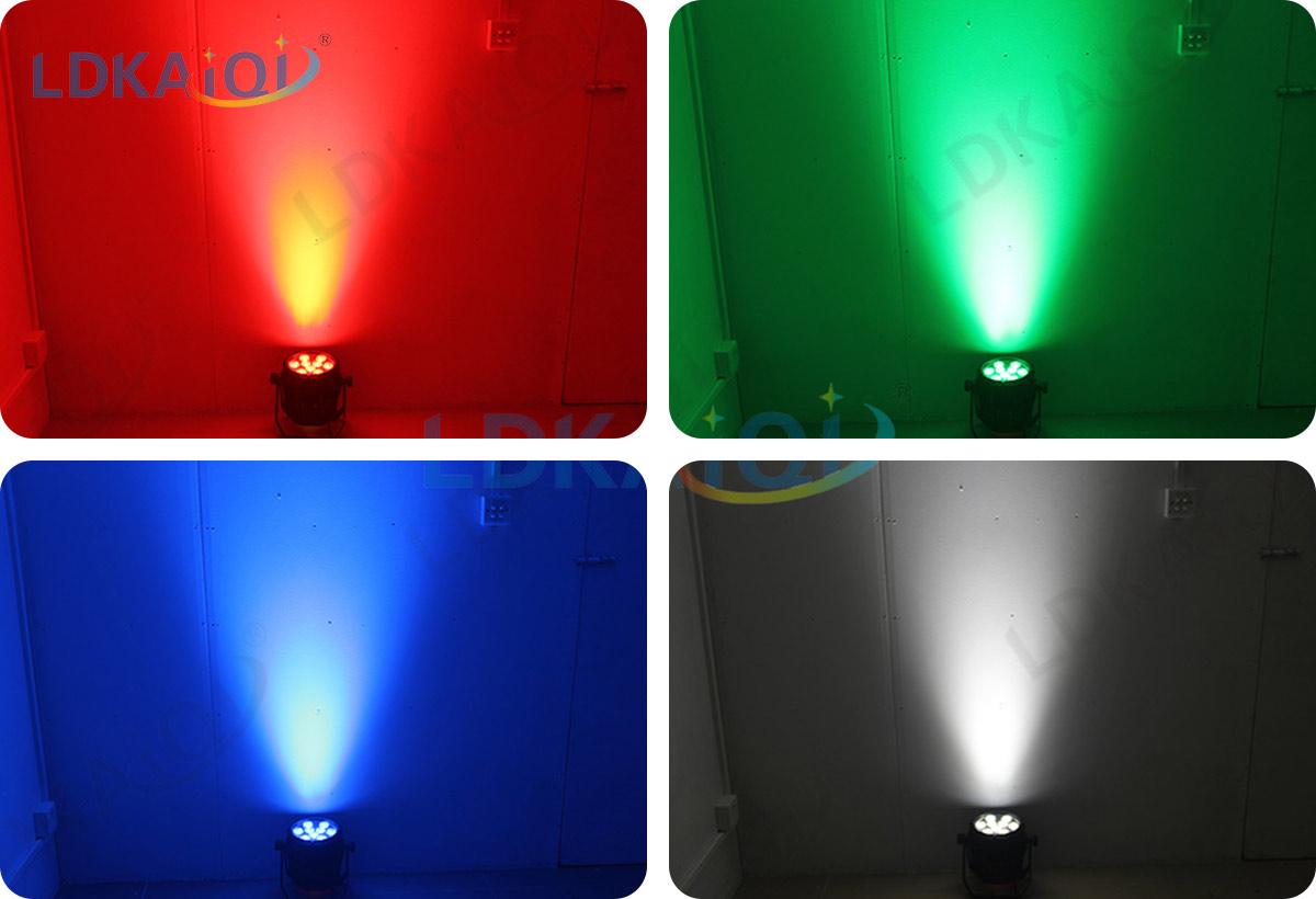 led waterproof battery wireless par light 9X10W 4in1/5in1/6in1(图2)
