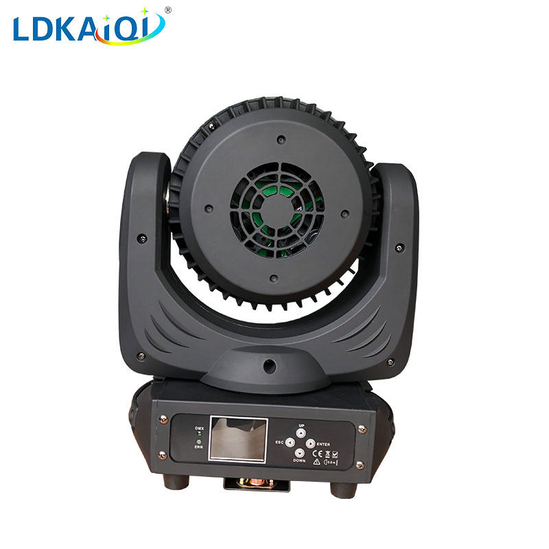 Led zoom wash moving head light 19X12W RGBW 4in1