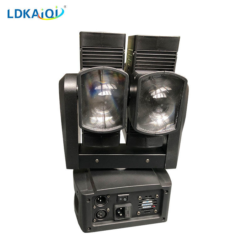Dual Led Moving Head Light 8X10W RGBW 4in1