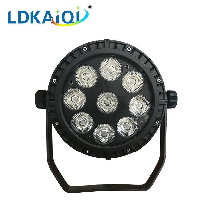 led waterproof par light 9X10W 4in1/5in1/6in1