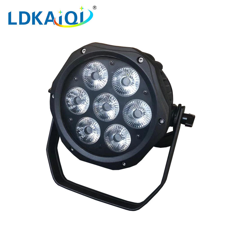 led waterproof par light 7X10W 4in1/5in1/6in1